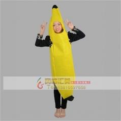 露脸卡通香蕉露脸卡通演出服装