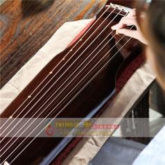 伏羲式古琴老杉木仲尼式初学高档演奏古琴生漆手工_风格汇美演出服饰
