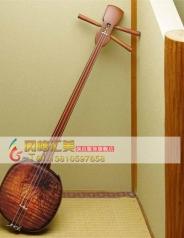 日本进口 三味线 传统的新木材 冲绳琉球弹拨乐器弦乐器_风格汇美演出服饰