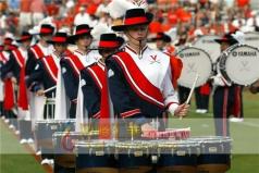 鼓乐队服装,军鼓服装套装,鼓乐队制服_风格汇美演出服装