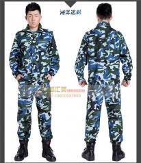 特种兵海洋迷彩作训服军装军训服工作服定做_风格汇美演出服饰