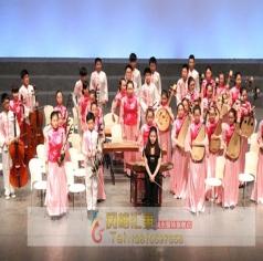 儿童民乐队制服,学生民乐队服装,校园民乐队服饰_风格汇美演出服装