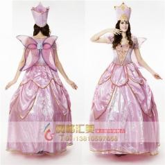 森林花仙子精灵仙女cosplay万圣节成人女化妆舞会表演出服舞台装