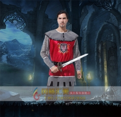 万圣节装扮服装鬼节Cosplay皇家骑士服饰表演装扮动漫成人男装