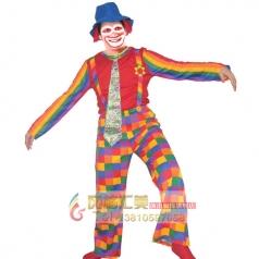 COSPLAY扮演服饰摄影商场活动演出服装男人女人小丑服装