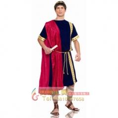 奇幻派对 新年服装角色扮演戏服摄影演出服饰 古罗马参议员装