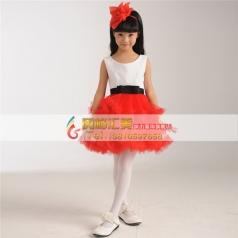 合唱礼服裙 女童合唱服装批发定制专家_风格汇美演出服饰