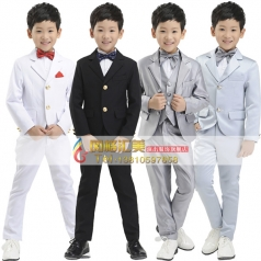 小学生合唱服装 黑色小学生合唱服装定制专家_风格汇美演出服饰