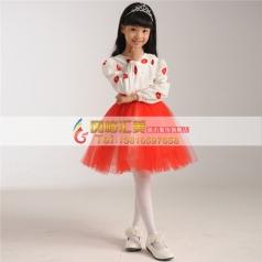 女童长袖合唱服,合唱服定做专家_风格汇美演出服饰