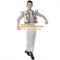批发蒙古舞蹈服装专业演出服装批发工厂_风格汇美演出服饰
