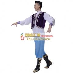 新疆舞蹈服装工厂专业定制演出服装_风格汇美演出服饰