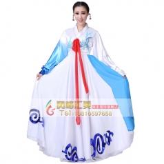 鲜族舞蹈演出服装专业定制_风格汇美演出服饰