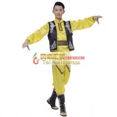 新疆舞蹈服装批发专业演出服装批发工厂_风格汇美演出服饰