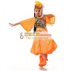 儿童民族,新疆舞蹈服装专业定制_风格汇美演出服饰