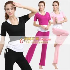 瑜伽服装瑜伽服什么牌子的好_风格汇美演出服饰