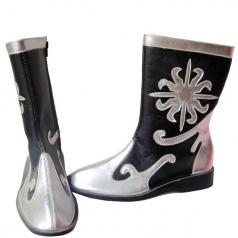 风格汇美 民族舞蹈靴子蒙古靴新疆舞蹈鞋藏族靴手工靴男高筒马靴