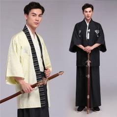 风格汇美日本武士服装男拍照写真影视演出服古装男士日本和服正装