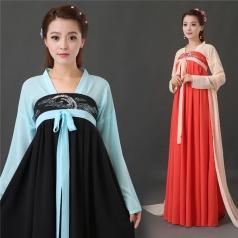 风格汇美传统日常汉服仙女改良抹胸襦裙夏中国风古装演出服唐装