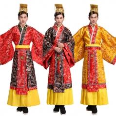 风格汇美汉代皇帝服装影视古代服装男皇上演出服影楼写真服装唐装