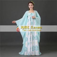 风格汇美新款汉服女装古装服装女唐朝服装仙女古装齐胸襦裙演出服