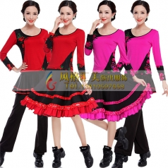 新款广场舞美服装,广场舞舞蹈服,广场舞服饰定做专家_风格汇美演出服饰