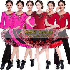 新款广场舞服装,广场舞演出服装定制专家_风格汇美演出服饰
