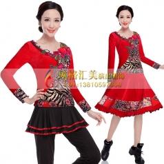 新款广场舞服装大全,广场舞服装批发工厂_风格汇美演出服饰