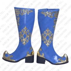 新疆蒙古舞蹈靴子 维吾尔族舞蹈靴批发工厂_风格汇美演出服饰