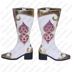 藏族舞蹈靴子 新疆舞蹈靴子批发工厂_风格汇美演出服饰
