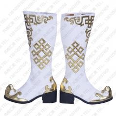 民族舞蹈鞋舞蹈靴 蒙古舞蹈靴子批发厂家_风格汇美演出服饰