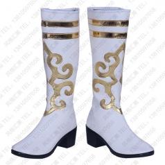 民族舞蹈靴 藏族舞蹈靴批发工厂_风格汇美演出服饰