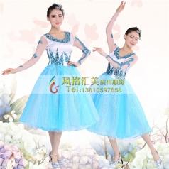 现代舞蹈服装定做 现代舞蹈演出服装批发厂家_风格汇美演出服饰