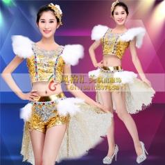 现代舞演出服装批发 现代舞蹈服装演出服批发工厂_风格汇美演出服饰