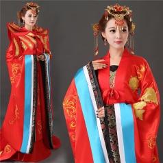 女子古代演出服装定做 古代服饰定制专家_风格汇美演出服饰
