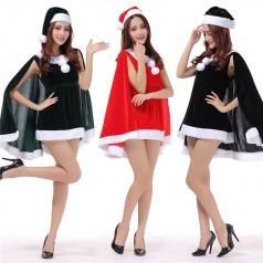 圣诞节服装女,圣诞服装成人批发_风格汇美演出服饰
