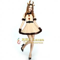 圣诞节服装,圣诞节服装公主批发_风格汇美演出服饰
