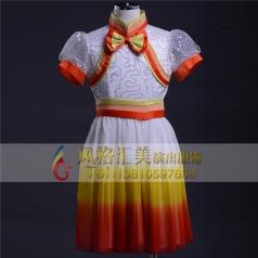 儿童合服定制 儿童合唱服装演出_风格汇美演出服饰