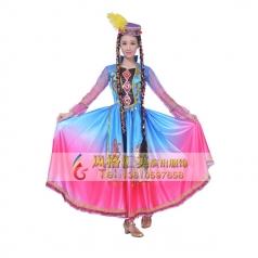 新疆舞服装 维吾尔舞蹈服装定做专家_风格汇美演出服饰