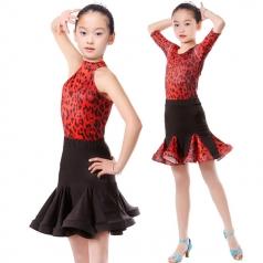 女式拉丁表演服定做演出舞蹈服厂家_风格汇美演出服饰