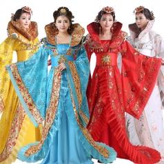 古代服装定做舞台服设计演出表演服_风格汇美演出服饰