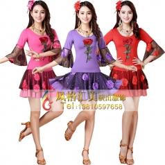 风格汇美广场舞蹈服装定制演出服 舞台服装