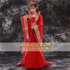 风格汇美古装服装定制舞台服装定制设计演出服_舞台服饰