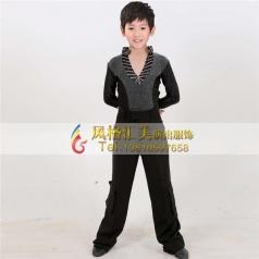 少儿男拉丁表演服舞台服装演出服装舞蹈服装_风格汇美演出服饰