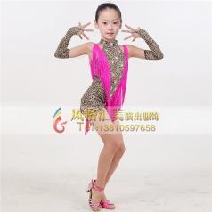 女式拉丁演出服装舞台装拉丁舞服定做_风格汇美演出服饰