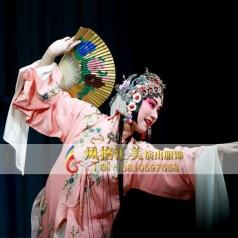 舞台戏剧戏服牡丹亭戏曲表演服装定制设计_风格汇美