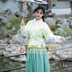 古装仙女服装表演服定做古装舞蹈服装定制_风格汇美演出服饰