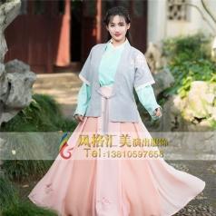 古装剧服装古代女性舞台服装_风格汇美演出服饰
