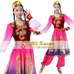 新疆舞蹈服装演出服装民族服装定做_风格汇美演出服饰