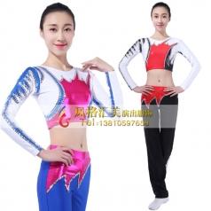 健美操舞蹈服装定做表演服舞台服表演服定做健美操舞服_风格汇美演出服饰