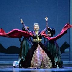 白雪公主舞台剧服话剧服装定做_风格汇美演出服饰
